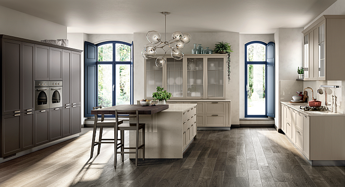 Carattere kitchen, by Scavolini