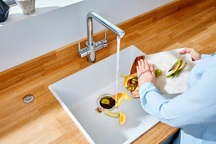 InSinkErator evita malos olores en la cocina.