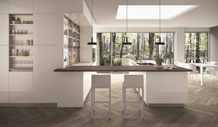 Rastelli kitchen R1: light in the kitchen