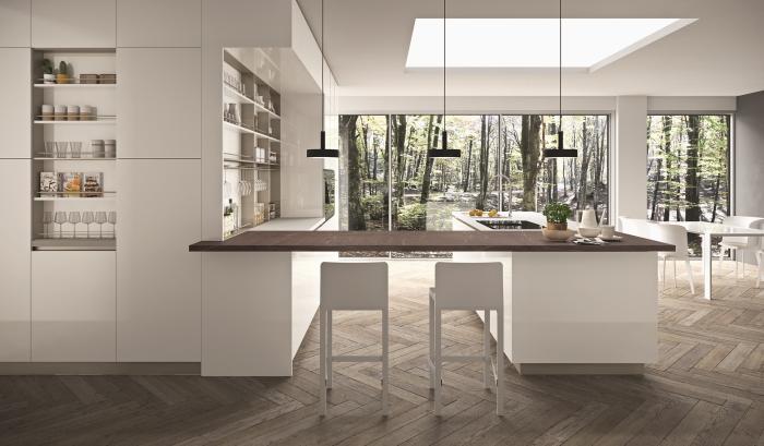 R1, de Rastelli: luz en la cocina.