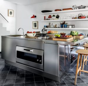 Atelier kitchen by Abimis for a residence in Palma de Mallorca