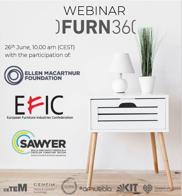 Webinar: Economía Circular en el Sector del Mueble