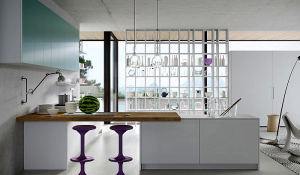 Karan kitchen, designed by Karim Rashid for Rastelli
