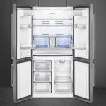 Smeg lanza un nuevo frigorífico combi de cuatro puertas
