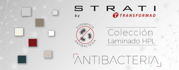 Propiedades antibacterianas en los laminados HPL Strati de Transformad