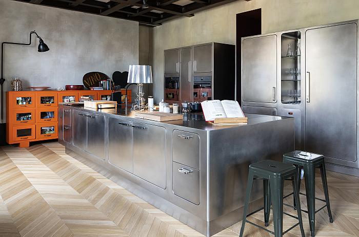 Una cocina Ego, de Abimis, en el corazón de Milán