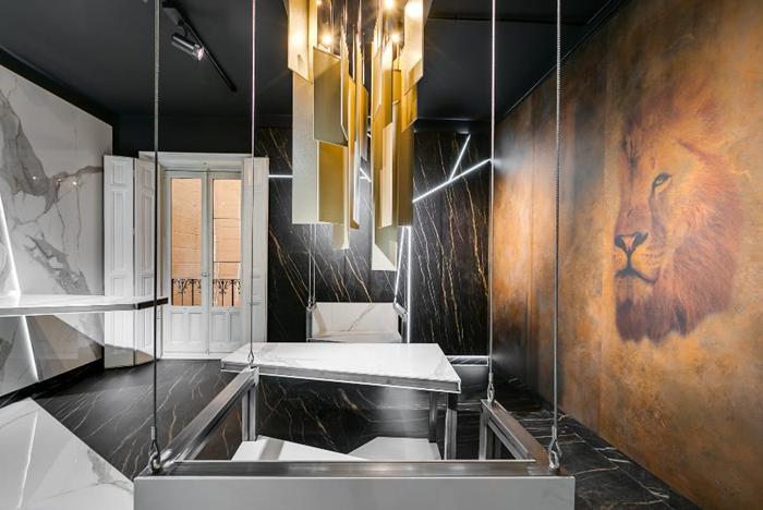 Laminam, en una exposición de Cristina Amigo en Casa Decor 2020