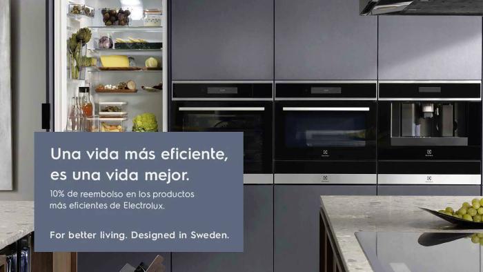 Promoción <i>Una vida eficiente es una vida mejor</i>, de Electrolux