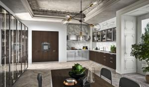 Una cocina Fabula, de Rastelli, de estilo atemporal