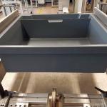 Indaux adapta su cajón bajo horno para el mercado británico