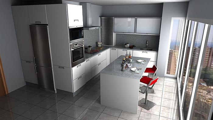 virtual kitchen, diseño de cocinas, programa de diseño de cocinas, virtualkitchen, benidorm software