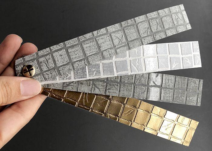 mosaico con relieve cantisa