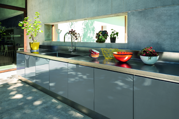 Atelier outdoor, AISI 304 stainless steel, AISI 304, stainless steel, Atelier Abimis, Atelier, Abimis,