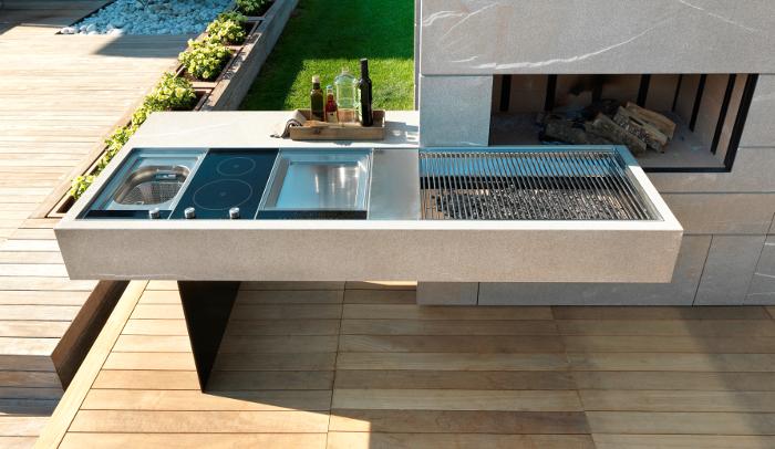 Modulnova Outdoor , Modulnova ,Outdoor ,cocina exterior, exterior