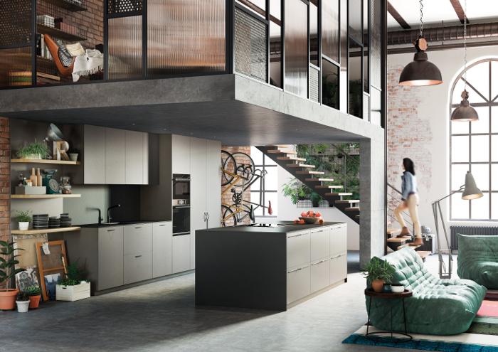Rekker , Rekto, cocina urbana, cocina, tirador de cocina, cocina de colores, cocina personalizable