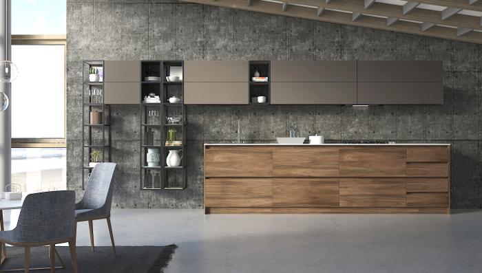 cocina inteligente completamente domotizada, Sara Folch Interior Design, Nel'la Design,Design Week Marbella, DWM, domotizada, cocina domotizada, cocina inteligente