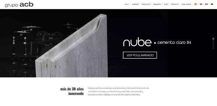 Grupo ACB , página web, web Grupo ACB , nueva web Grupo ACB