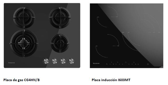 Taurus placas cocción