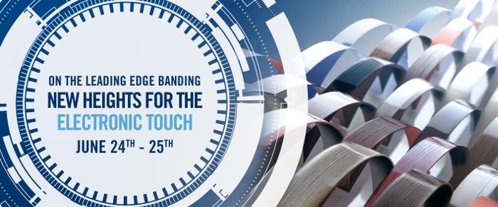 Electronic Touch, SCM, cantos, canteado de calidad, canteado SCM , sector del mueble, On the leading edge banding