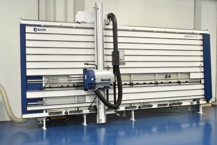 sierras verticales Gabbiani,  sierras verticales , Gabbiani, corte, sector del corte, mecanizado de tablero, SCM