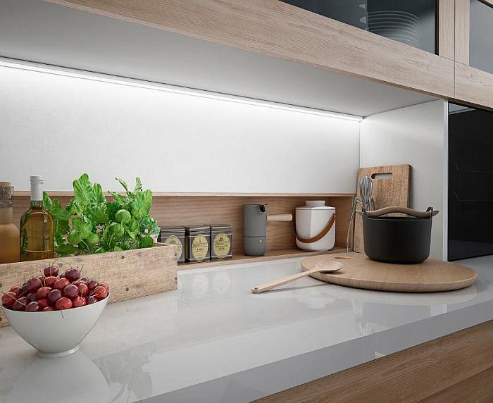 AMC electricidad iluminación LED cucine oggi