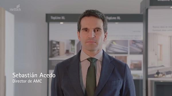 Sebastián ACEDO AMC, ASOCIACIÓN DE MOBILIARIO DE COCINA, hettich Xperience days