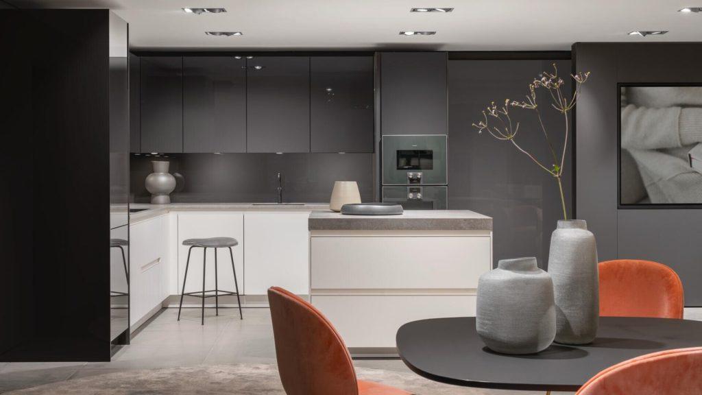 cocinas modernas en blanco y gris, Siematic