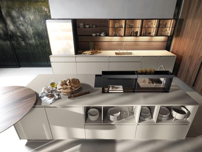 Euromobil, natural, monochrome, contrast, cocina antis, kabinspace