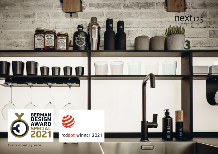 Next125, German Brand Award, German Innovation Award, Red Dot Award Product Design.